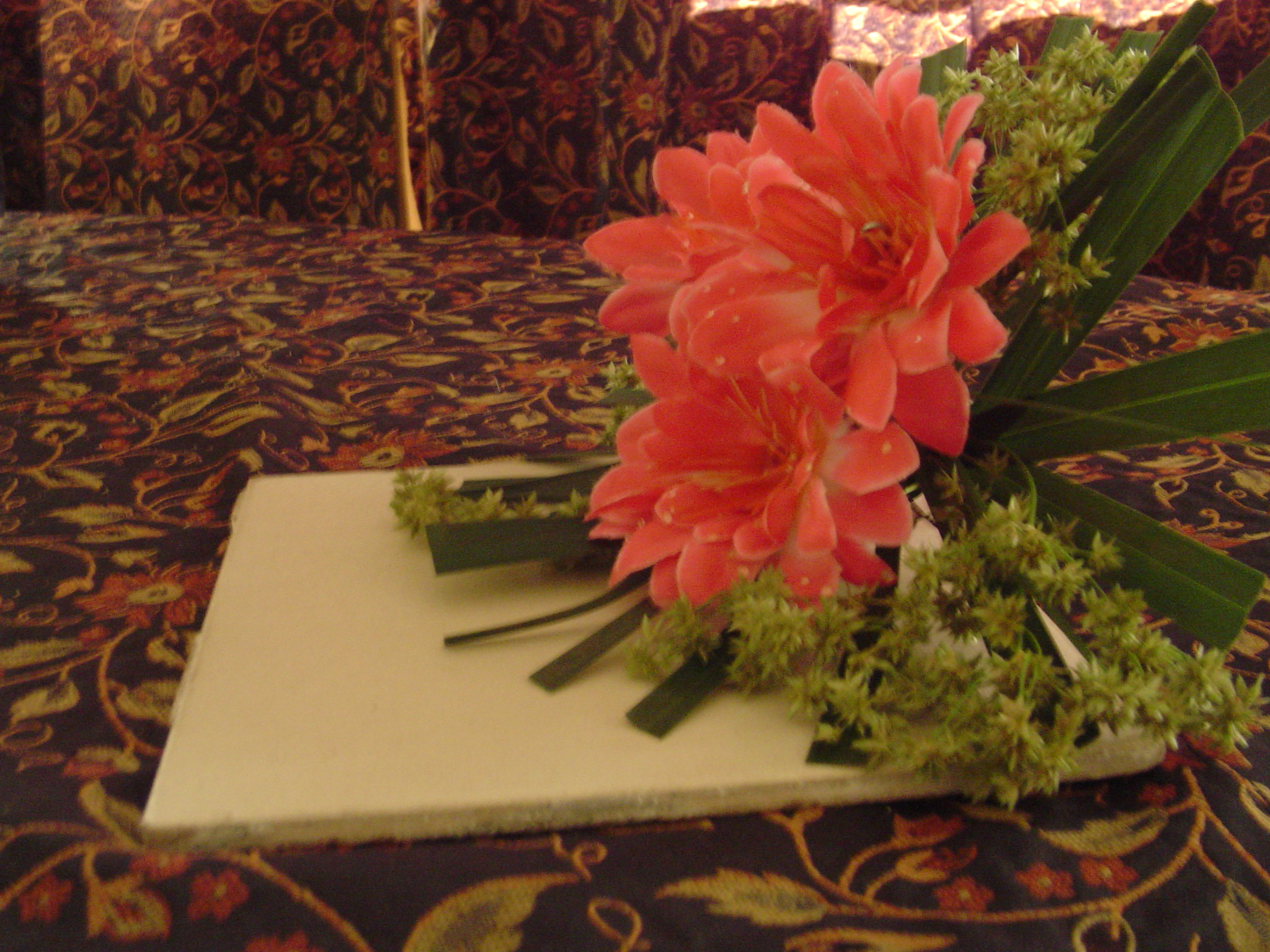 no container flower arrangement