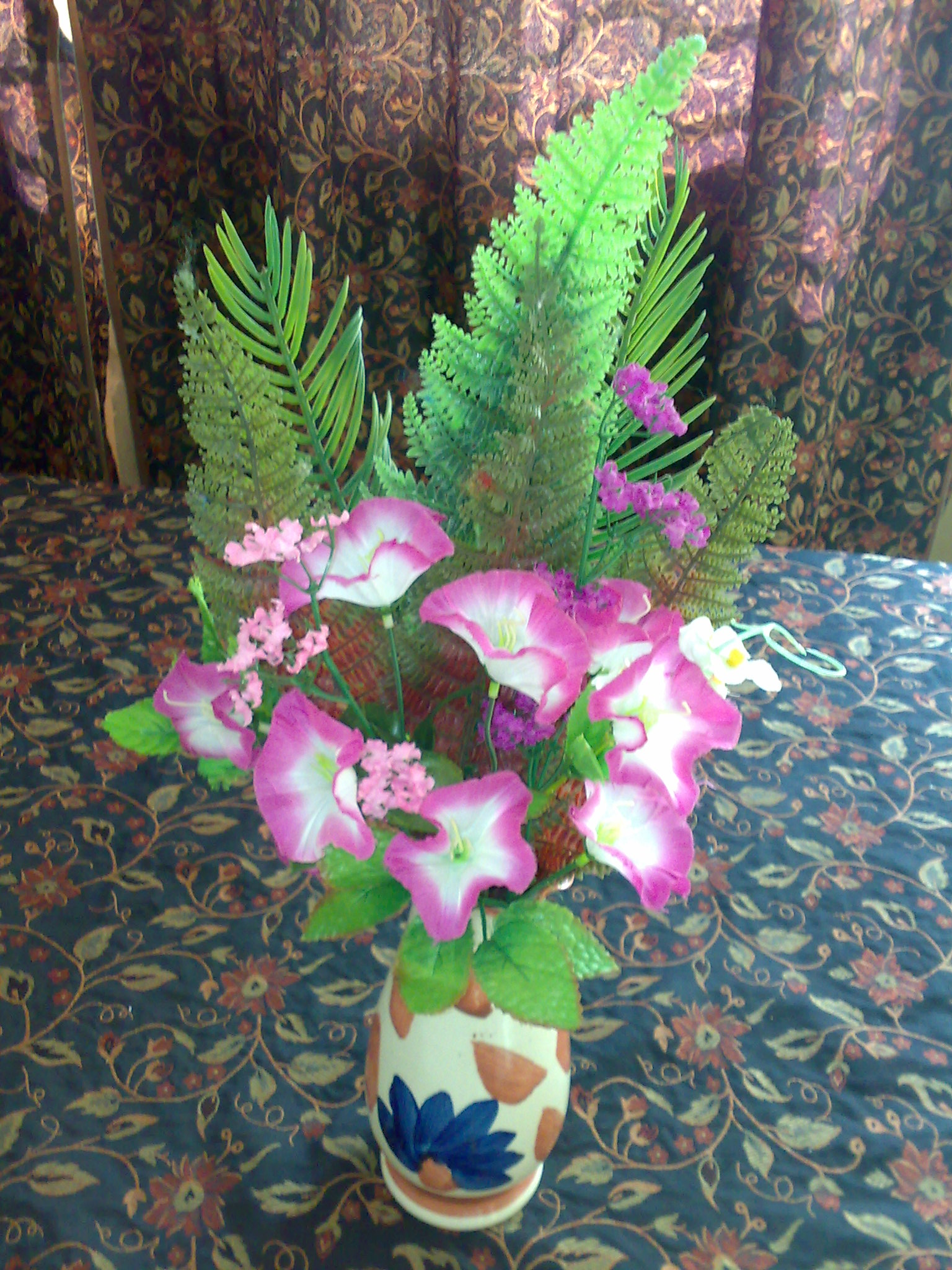 torch flower arrangement